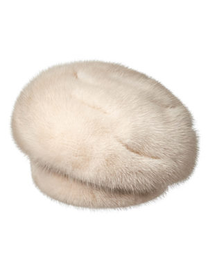Меховая шапка из норки