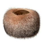 Шапка из меха лисы и норки