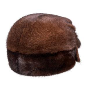 Норковая меховая шапка