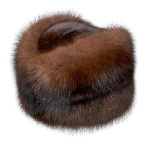 Шапка из меха соболя