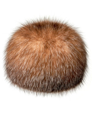 Шапка из меха лисы