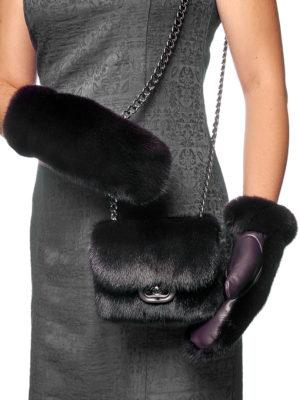 Варежки и сумка (комплект)