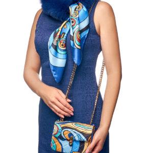 Шейный шарф и сумка