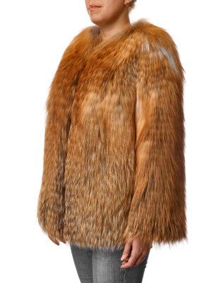 Жакет из меха рыжей лисы
