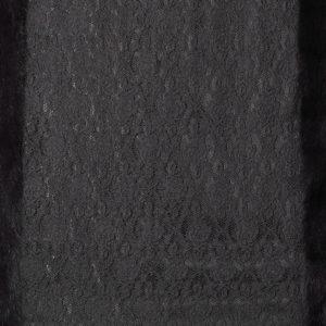 Палантин с мехом песца