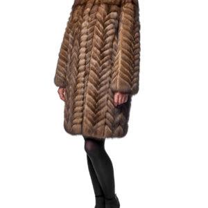 Меховое пальто из соболя (Шуба из соболя)